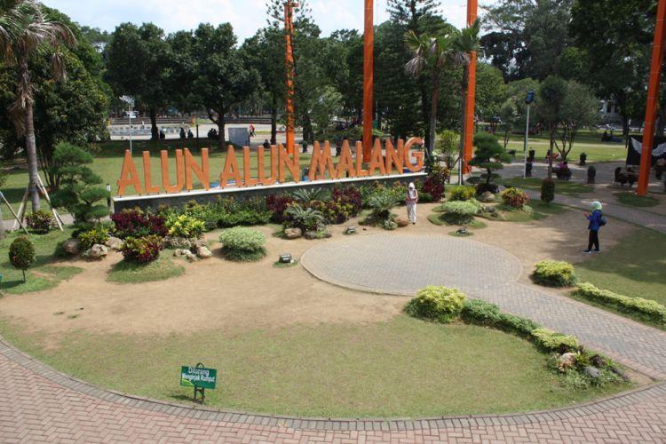 Tempat Wisata di Malang - Alun-alun Kota Malang