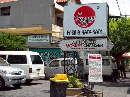 Oleh-oleh khas Bali - Kaos Joger