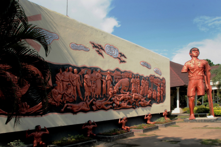 Tempat Wisata di Makassar - Monumen Korban 40.000 Jiwa