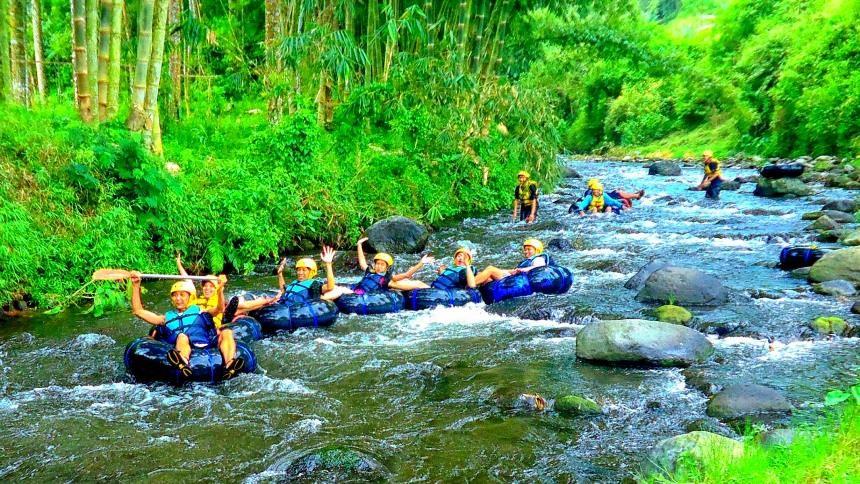 Tempat Wisata di Malang - Wisata Tubing Wringinanom