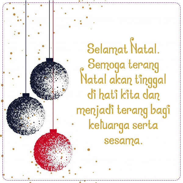 50 Ucapan Selamat Natal Bahasa Indonesia Plus Gambar ...