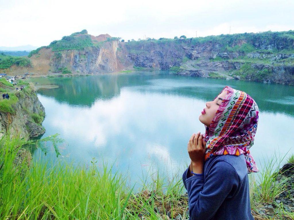 Tempat Wisata di Bogor - Danau Quarry