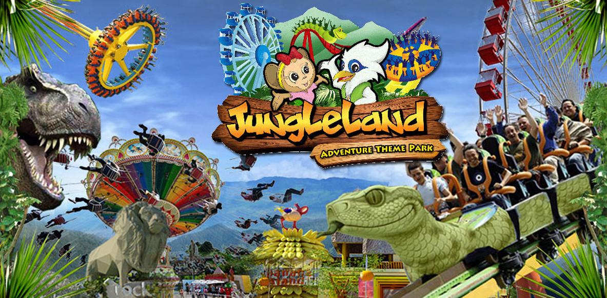 Tempat Wisata di Bogor - Jungleland Adventure Theme Park
