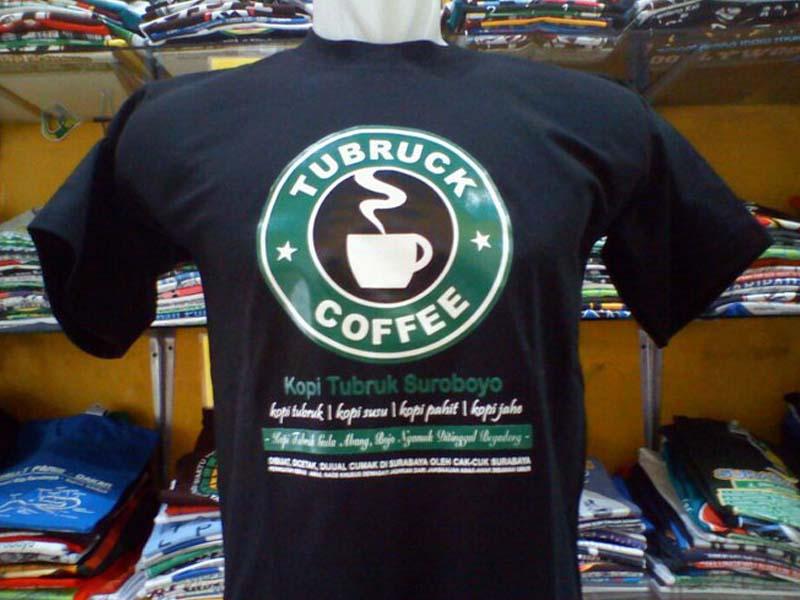 Oleh-oleh khas Surabaya - Kaos Cak Cuk