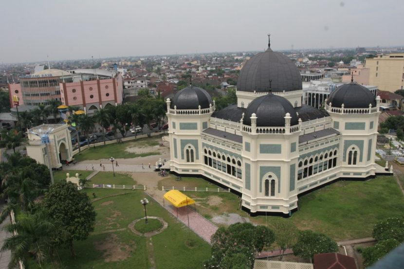 Tempat Wisata di Medan - Masjid Raya Medan