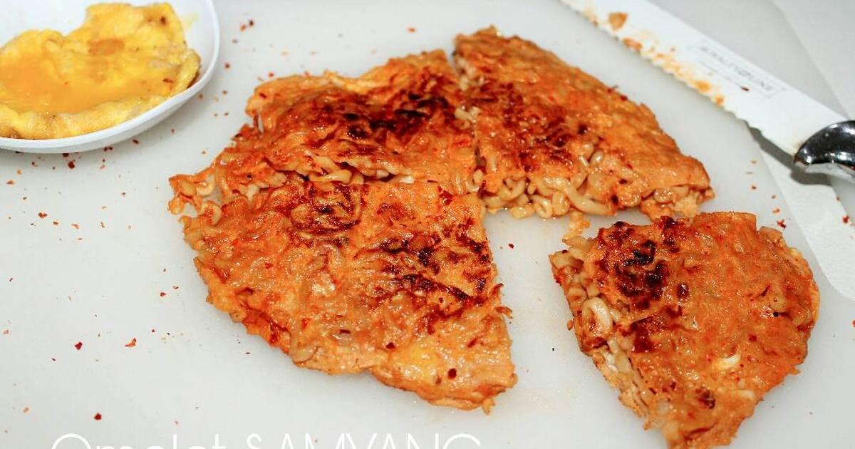 Kreasi Samyang - Omelet