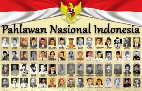 Biografi 10 Pahlawan Nasional Indonesia & Asal Daerahnya