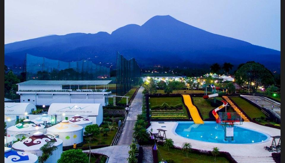 Tempat Wisata di Bogor - The Highland Park Resort