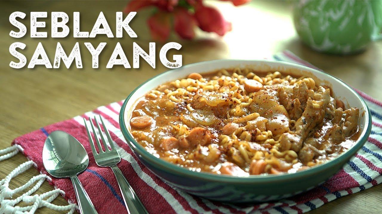 Kreasi Samyang - Seblak