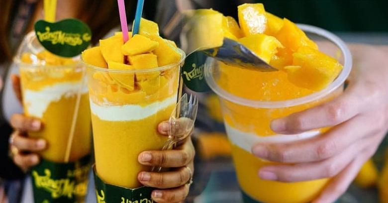 Resep King Mango Thai, Minuman Mangga Kekinian dari Thailand