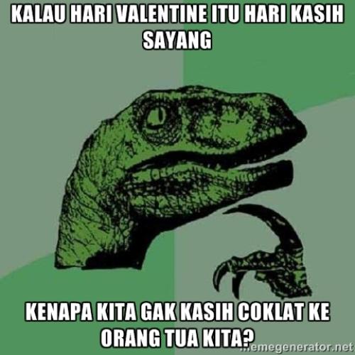 25 Meme Hari Valentine Yang Asli Bikin Ngakak Jomblo Dilarang Baper Mamikos Info
