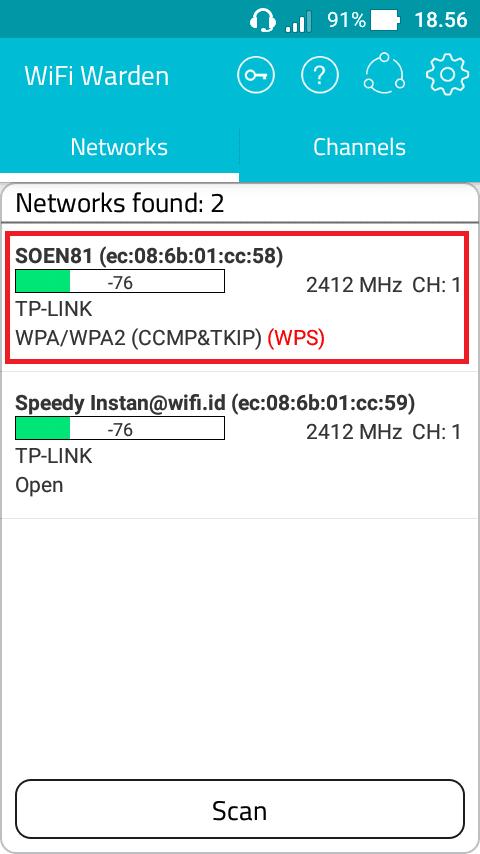 Cara Membobol Sandi WiFi Menggunakan Software WiFi Warden - hack wifi - hacker wifi