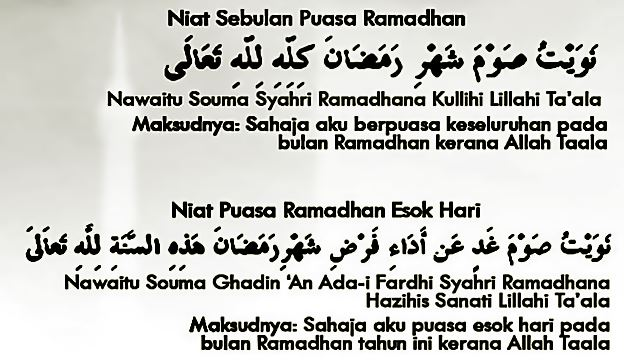 Bacaan Niat Puasa Ramadhan Lengkap Beserta Artinya Mamikos