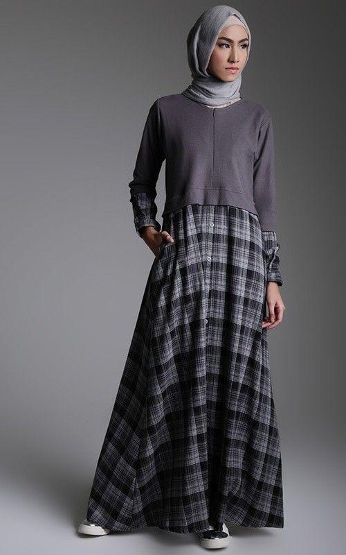 Trend Model Baju Gamis Terbaru Remaja Wanita Lebaran 2020