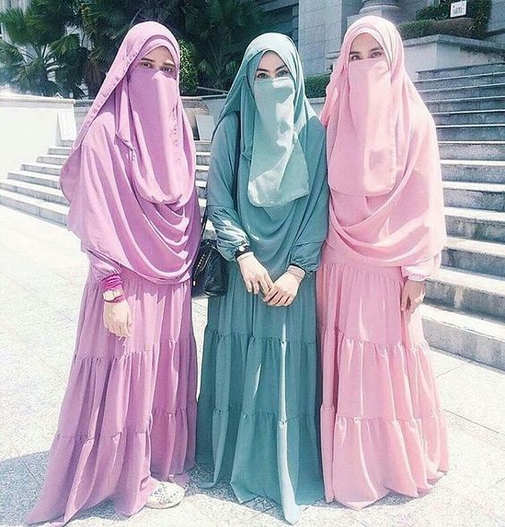 Trend Model Baju Gamis Terbaru Remaja Wanita Lebaran 2019