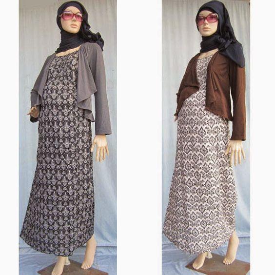 Jilbab Untuk Baju Batik: Trend Model Baju Gamis Terbaru Remaja Wanita Lebaran 2018