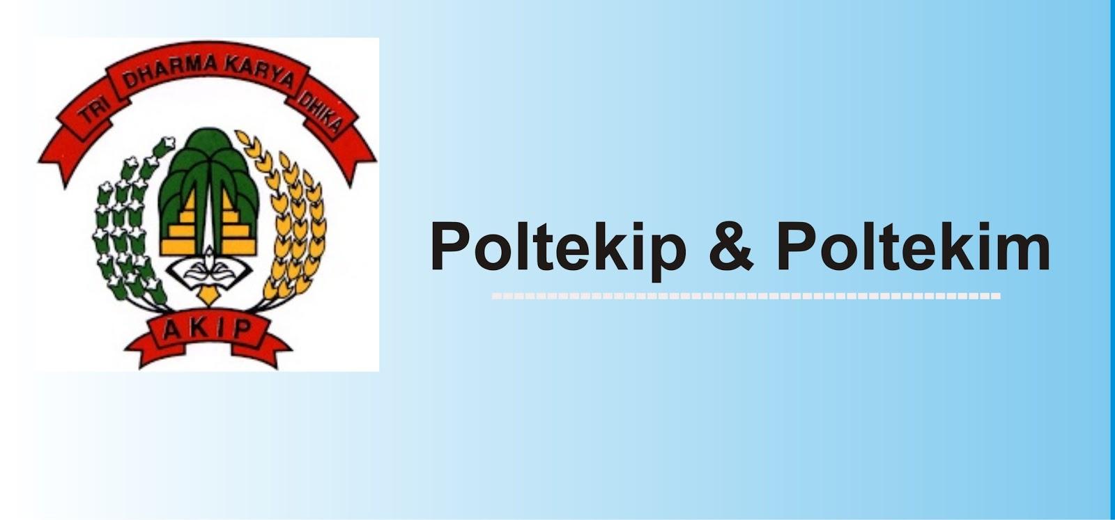 Pengumuman Kelulusan Hasil Seleksi POLTEKIP dan POLTEKIM 2018