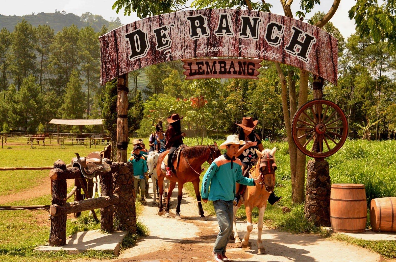 De Ranch Lembang - Tempat Wisata di Bandung yang Buka Saat Lebaran
