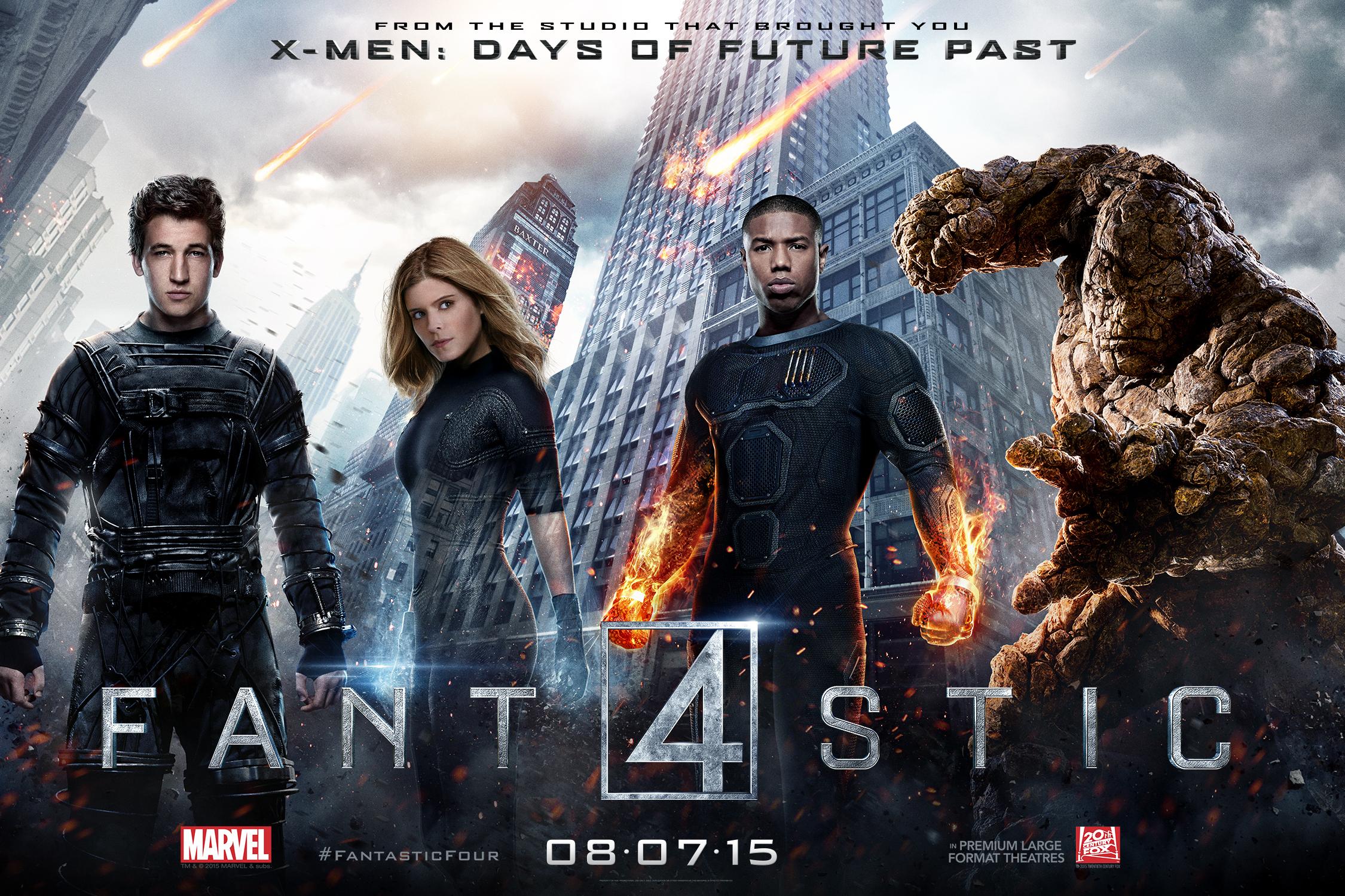 Fantastic Four -Film Aksi Terbaik