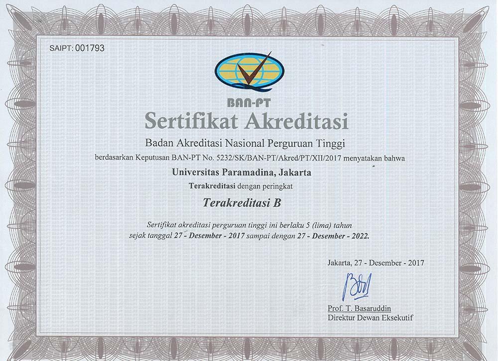 Jurusan di Universitas Paramadina Lengkap dengan Akreditasinya