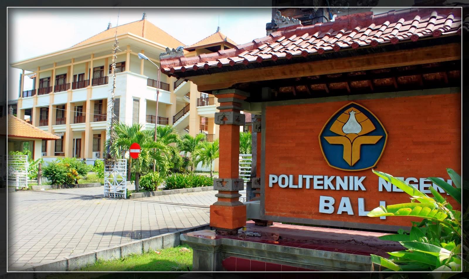 Jurusan PNB Politeknik Negeri Bali dan Akreditasinya 2019/2020
