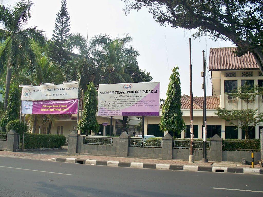 Jurusan Kuliah Sekolah Tinggi Teologi Jakarta dan Akreditasinya 2019/2020