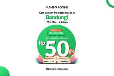 Kost MamiRooms Hadir di Bandung, Cobain Yuk!