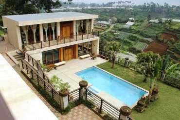 5 Villa di Bandung Dengan Fasilitas Private Pool Murah
