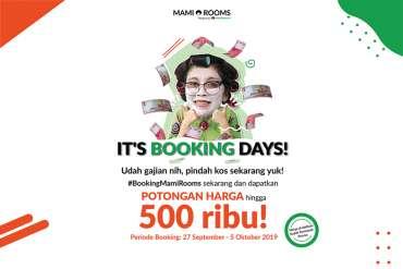 Makin Hemat Pakai Booking Days MamiRooms!