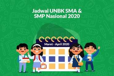 Jadwal UNBK 2020 SMA/SMK/MA Dan SMP/MTS Nasional Lengkap