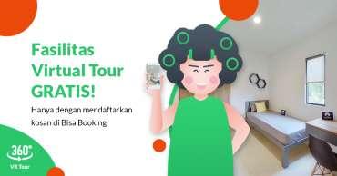 Mamikos Hadirkan Fitur 'Virtual Tour', Bikin Kost Jadi Cepat Laku!