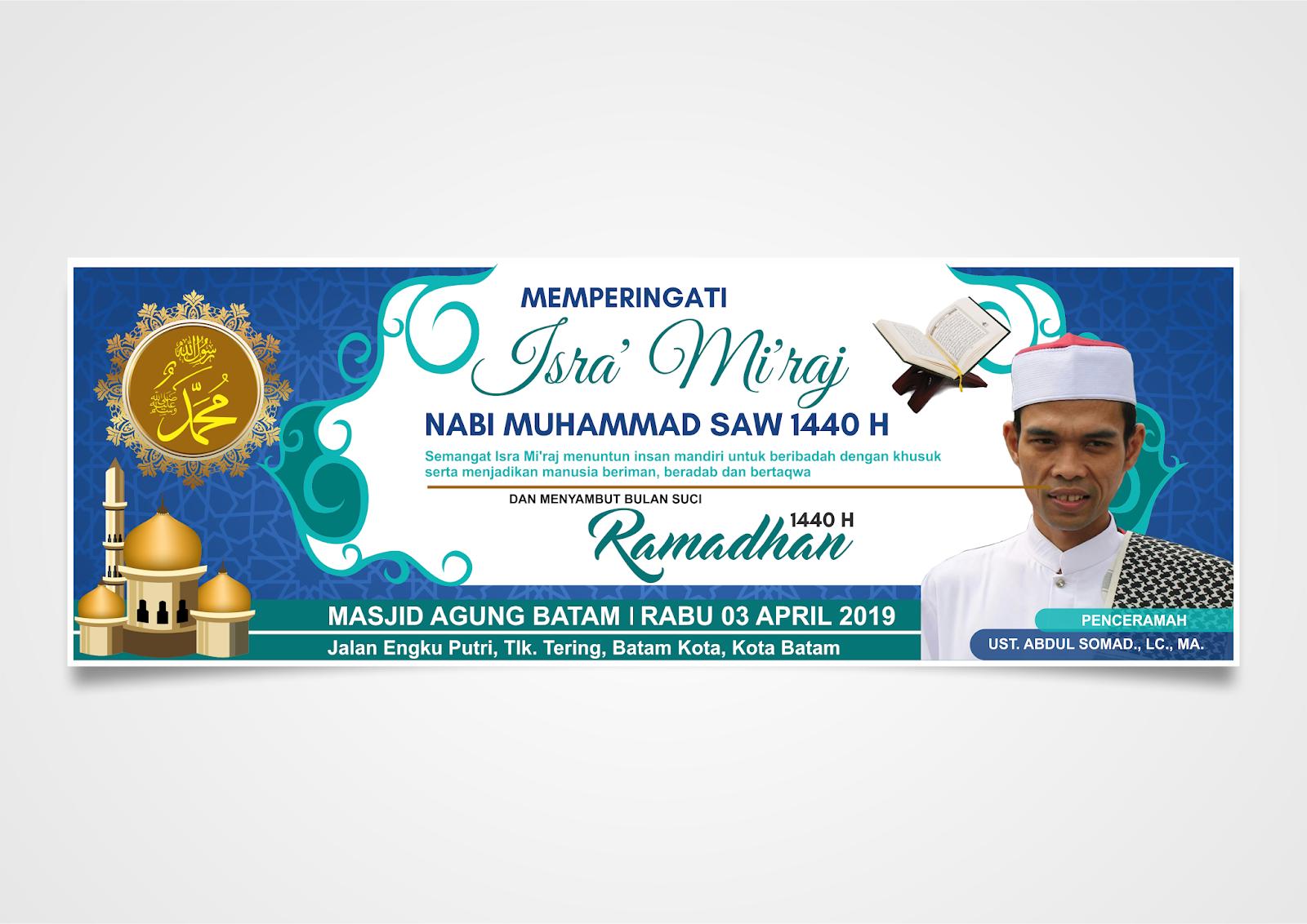 Contoh Proposal Spanduk Undangan Dan Banner Isra Miraj 2020 Mamikos Info