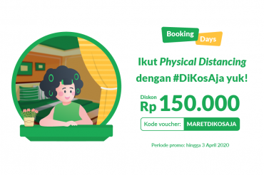 Yuk, Mulai Physical Distancing dengan Promo Booking Days!
