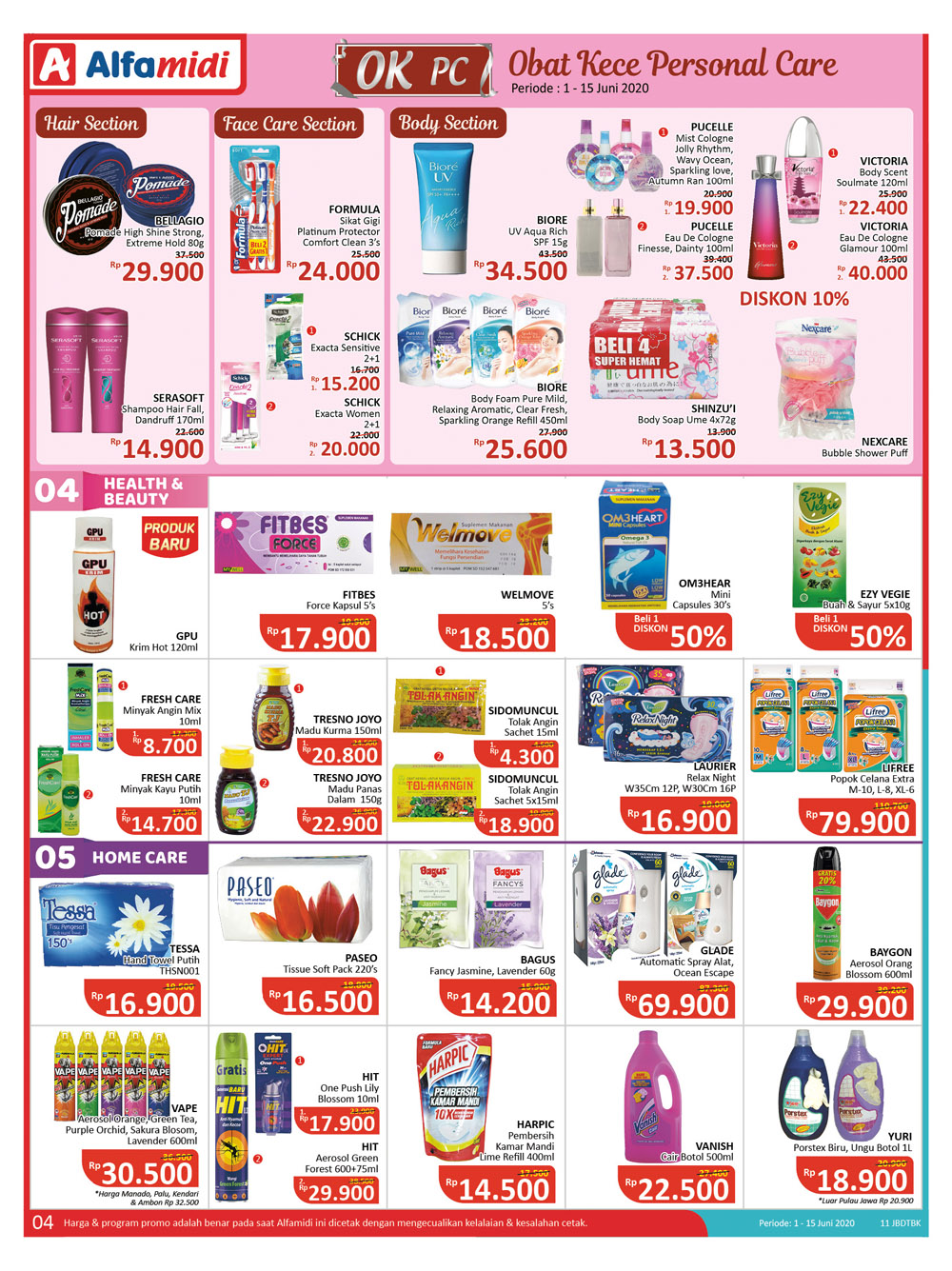 Promo Alfamidi Jsm Hari Ini Juni 2020 Katalog Promo Alfamidi Weekday Mamikos Info