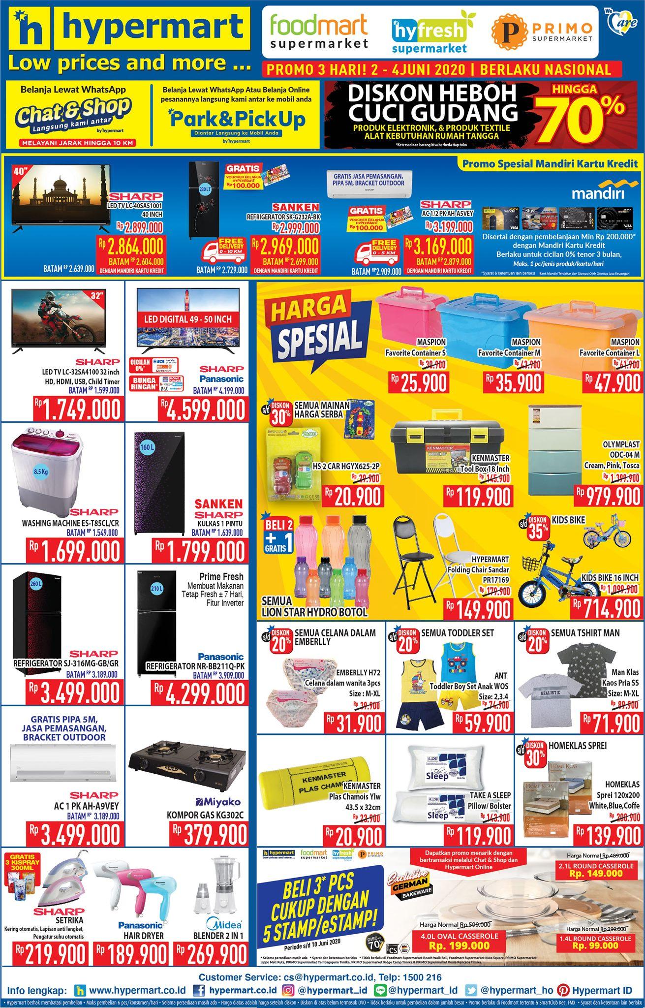 Promo Hypermart Hari Ini Juni 2020 Promo Jsm Amp Promo Weekday Hypermart Mamikos Info